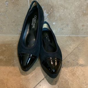 Cordani Shoes - Cordani Anya Suede Loafer with Patent Leather Toe